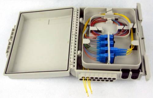 caja de distribuci n gxf6 15n6s con ip65 para 16 fibras