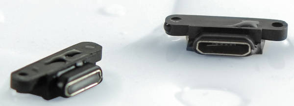 conector USB impermeable-w