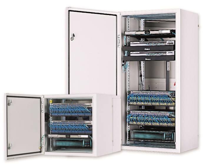 Bastidores y chasis conectores redes fibra ptica ftth - Distribucion de armarios ...