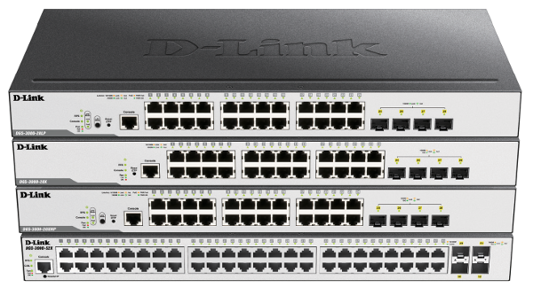 DGS-3000 switch-gestionable-w