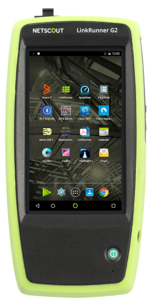 netscout-LRG2 Android home screen front-w