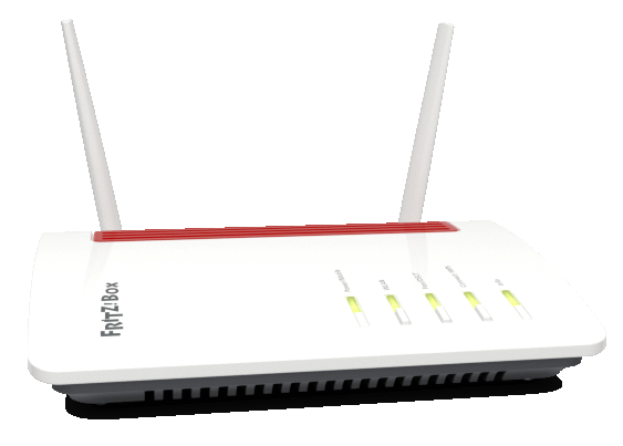 router-fritzbox 6850